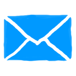 email-drawn-blue